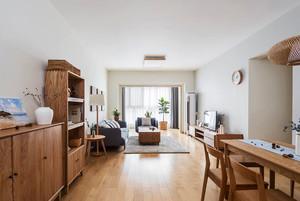 宜家风格简约自然客厅设计装修效果图