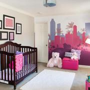 欧式风格精美婴儿房装修实景图