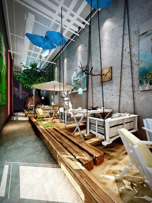 后现代风格精美咖啡厅设计装修效果图