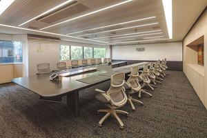 简约风格会议室设计装修效果图