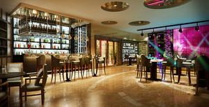 现代风格时尚音乐酒吧设计装修效果图