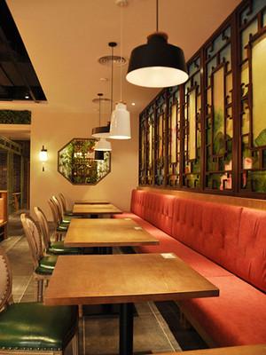 混搭风格精致中餐厅设计装修效果图