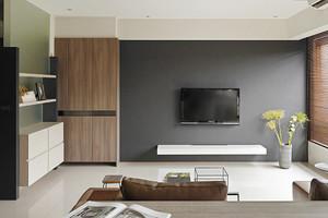 79平米简约风格两室两厅室内设计实景图