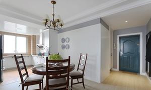 现代美式风格精致三室两厅两卫装修效果图