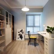 现代简约风格精致书房设计装修效果图