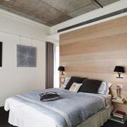 现代简约风格卧室设计装修实景图
