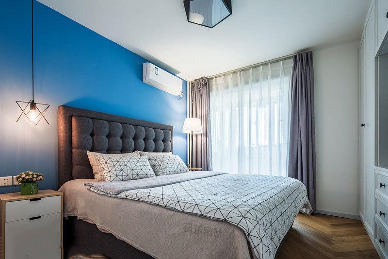 清新风格自然简约卧室装修效果图