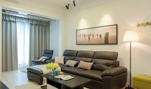 现代风格小户型精致客厅设计装修效果图