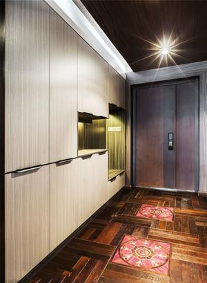 现代风格精致玄关鞋柜设计装修效果图