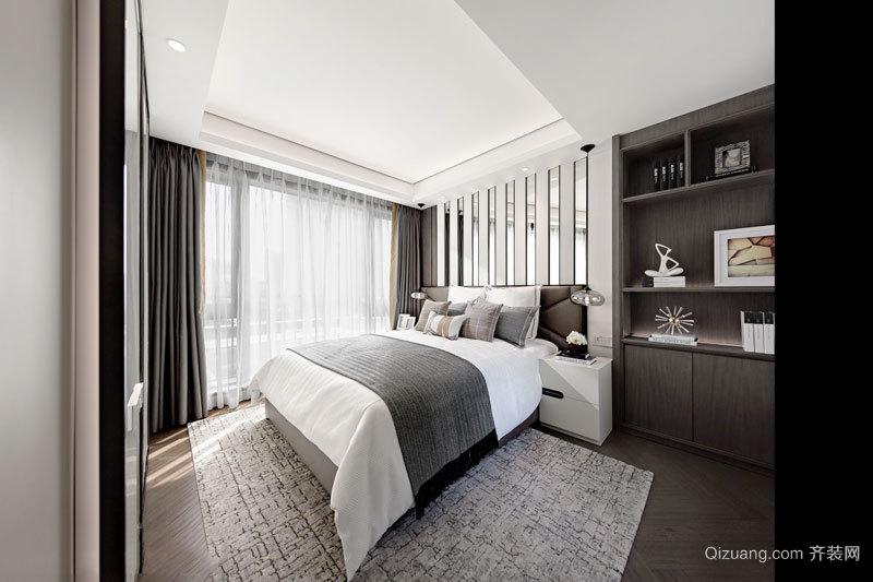 新中式风格典雅精致卧室设计装修效果图
