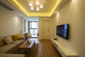78平米宜家风格简约两室两厅室内装修效果图,随着宜家家居品牌逐渐被大众所熟知,简约、温馨且实用的宜家家居风格也日渐深入人们的生活。