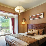 中式风格古典精致卧室设计装修效果图