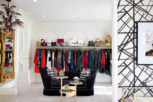 后现代风格时尚服装店设计装修效果图
