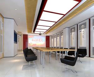 现代风格会议室设计装修效果图