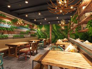 混搭风格精美中餐厅设计效果图