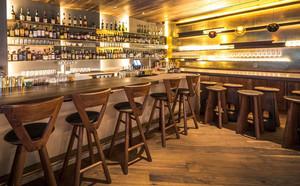 美式风格复古精致酒吧设计装修效果图