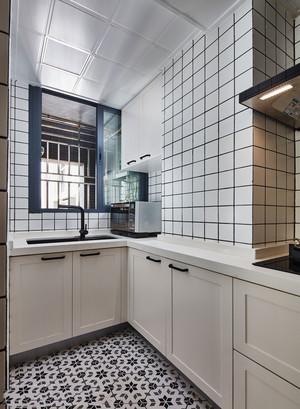 北欧风格简约小户型厨房设计效果图