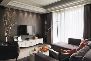 80平米简欧风格精致室内设计装修效果图