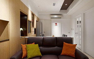 74平米简约风格原宿风两室两厅室内装修效果图