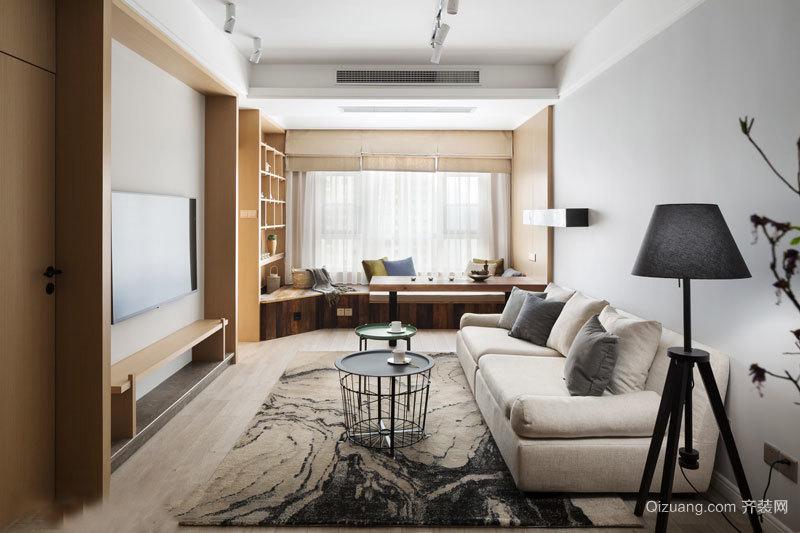 简约中式风格典雅客厅设计装修效果图