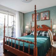 美式风格精致时尚卧室设计装修效果图
