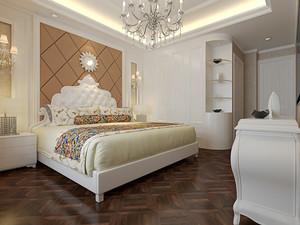 欧式风格精美三室两厅室内设计装修效果图
