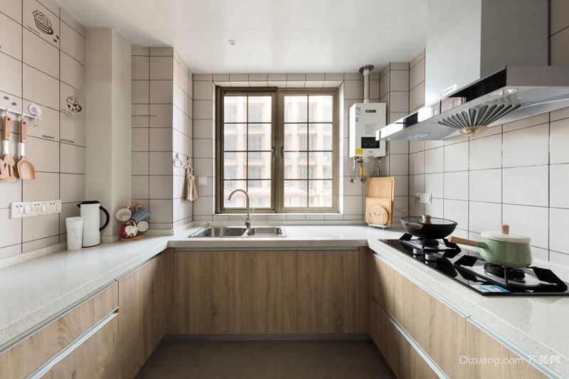 现代简约风格两居室厨房设计装修效果图