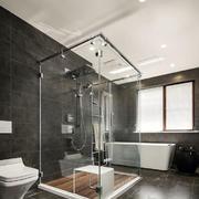 现代风格大户型卫生间设计装修效果图