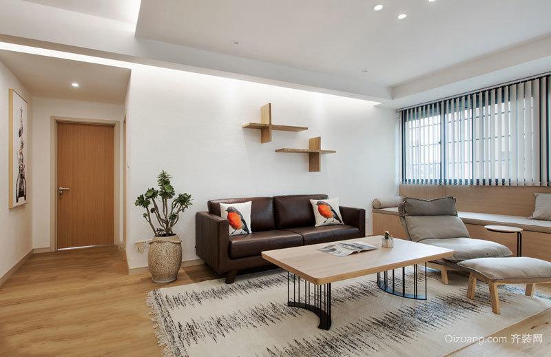 宜家风格简约小户型客厅装修实景图