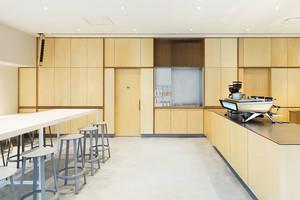 54平米简约风格咖啡厅设计装修图