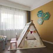 北欧风格温馨儿童房设计装修效果图
