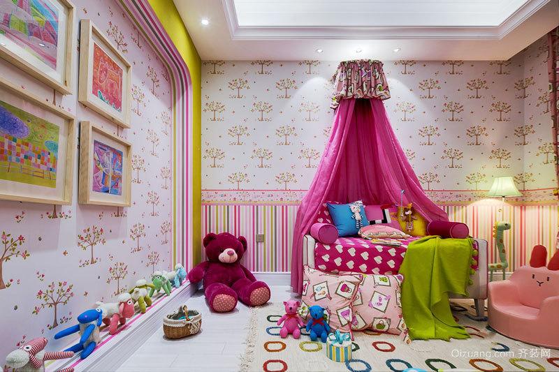 欧式风格精美时尚儿童房设计装修效果图