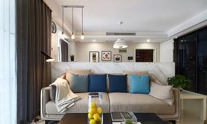 现代简约风格温馨一居室室内装修效果图