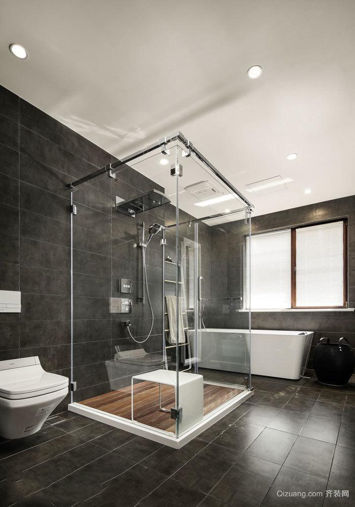 现代风格精致大户型卫生间装修效果图