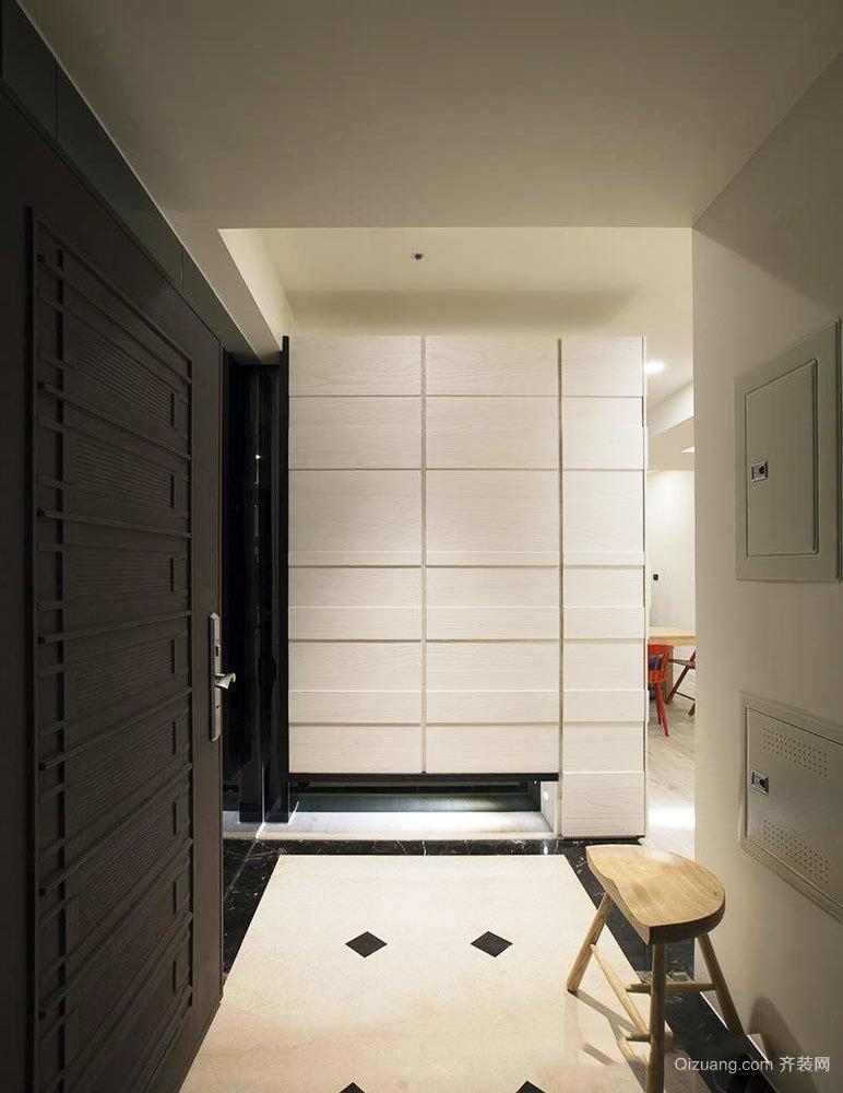 现代风格精致玄关鞋柜设计效果图