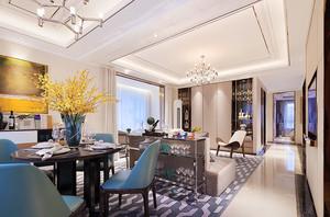 120平米新古典主义风格室内设计装修图