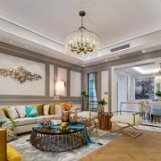 新古典主义风格奢华精美客厅装修效果图