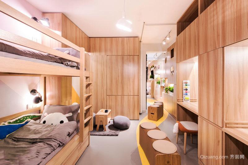 宜家风格简约儿童房设计装修效果图