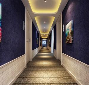 欧式风格精致酒店过道设计装修效果图