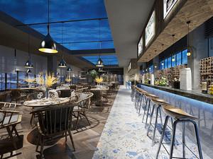 新中式风格精致餐厅设计装修图