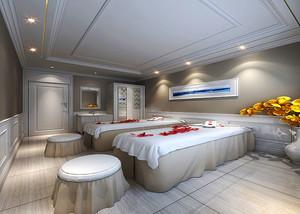 欧式风格精致美容院包间装修效果图