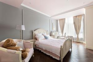 欧式风格精美浅色儿童房卧室装修效果图