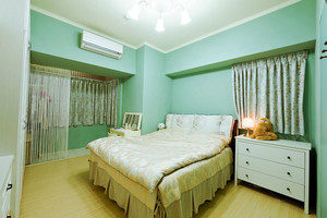 清新风格简约一居室室内设计装修效果图