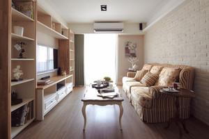 田园风格精美三室两厅室内设计装修效果图