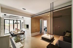 76平米现代风格简约两室两厅室内装修图