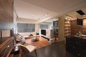 58平米现代风格原宿风单身公寓装修效果图