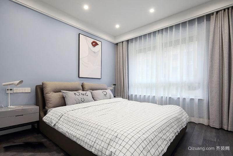 现代风格小户型卧室装修实景图赏析