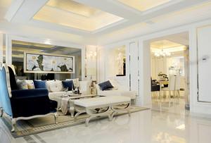 384平新古典主义风格别墅室内设计效果图