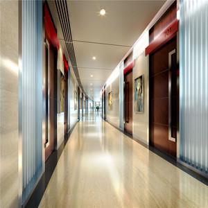 现代风格精致酒店过道设计装修效果图