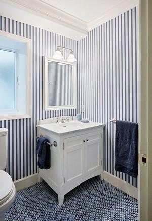 地中海风格精致卫生间设计装修效果图